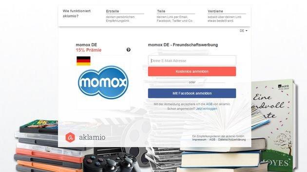 Momox Newsletter