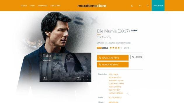 Maxdome Alter