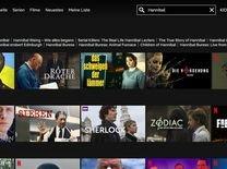 Netflix Suchfunktion